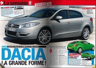 Dacia, aproape de final cu noul Logan. Nume de cod X52
