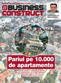 Revista Business Construct apare joi, 30 iunie îmreună cu Ziarul Financiar