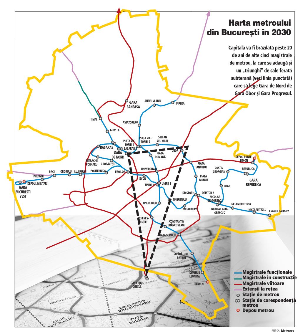 Cum Va Arăta Metroul In 2030 După Investiţii De 8 5 Miliarde De