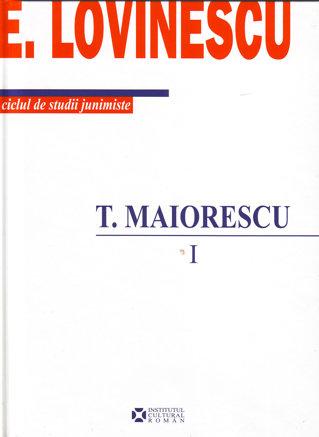COLECTII / Studiile junimiste ale lui Lovinescu, publicate integral dupa 70 de ani!