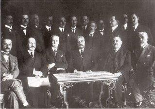 Delegaţia română la tratativele de la Versailles