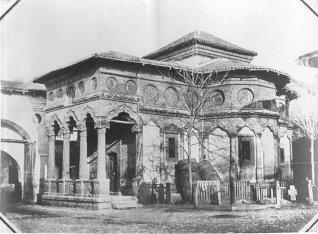 L. Angerer – Biserica Stavropoleos la 1855