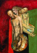 Pictura cu şi fără cuvinte: Laurenţiu Midvichi & Mihai Criste/ de Daniel Nicolescu