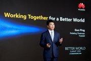 Guo Ping, rotating chairman Huawei: Tehnologia ne poate ajuta să luptăm împotriva virusului pe mai multe fronturi. 5G poate fi folosită pentru a stimula transformarea digitală în toate sectoarele societăţii