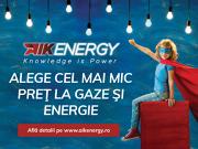 (P) Ambiţia celui mai mare importator de gaze: AIK Energy invită consumatorii să aleagă cel mai mic preţ cu ocazia liberalizării pieţei