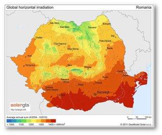 Harta soarelui: Care sunt cele mai bune zone din România pentru a investi într-un parc solar, noul subiect fierbinte al energiei verzi?