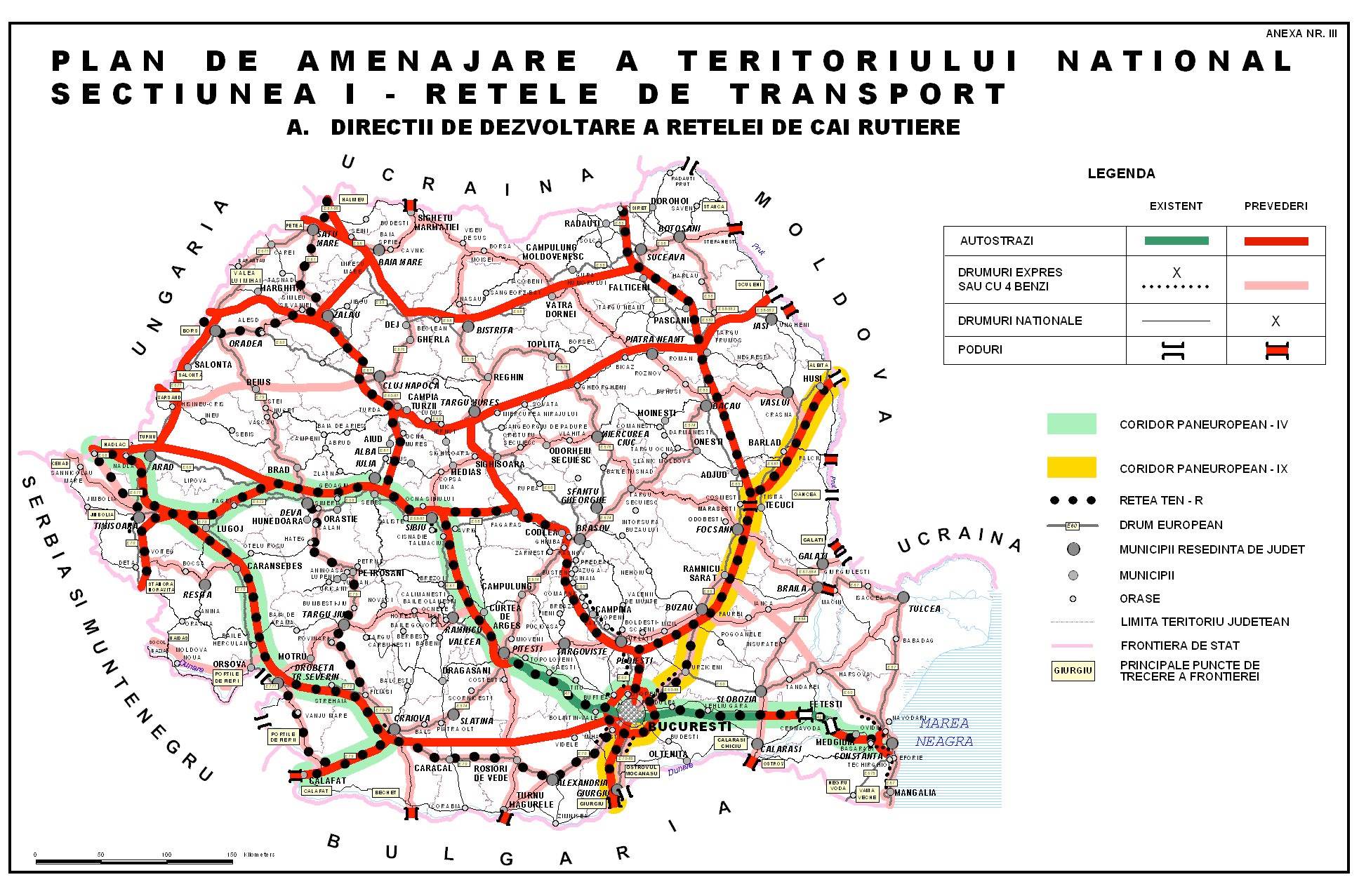 Ce Autostrăzi Vor Fi Construite In Romania In Următorii 20 De Ani