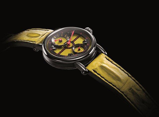 Cu cea a venit nou brandul elveţian Chronoswiss pentru a-şi face loc în industria orologeriei de lux, la zeci de ani după ce numele mari deja îşi adjudecaseră piaţa? Au luat un ceas de cameră, de mari dimensiuni şi l-au adaptat pentru a fi purtat la mână