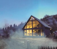 Evadare de weekend: Doi fraţi au investit într-una dintre cele mai frumoase cabane din Braşov. Cum arată proiectul?