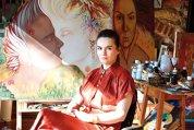 Ştefania Nistoreanu este primul artist român care şi-a vândut un tablou în Bitcoin. Cum se împacă arta cu tehnologia?