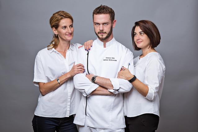 """Monica Aliman, unul dintre cei trei """"muschetari"""" din spatele brutăriilor Pain Plaisir, povesteşte despre viitorul gastronomiei: va fi un mix de bistonomie şi haute cuisine livrat acasă în pachete uşor de pregătit acasă"""