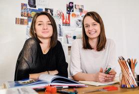 """Se cunosc din copilărie, au studiat designul şi au decis să lanseze un business cu o tehnică specială: """"Sursa de inspiraţie sunt motivele tradiţionale româneşti"""""""