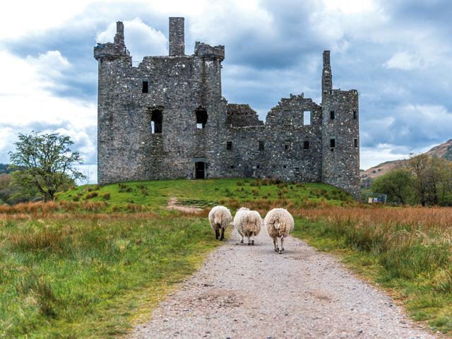 GALERIE FOTO: Cum arată Scoţia, acest tărâm al...