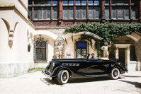 """Concursul de Eleganţă a adus la Sinaia unele dintre cele mai frumoase """"bijuterii"""" pe patru roţi din lume"""