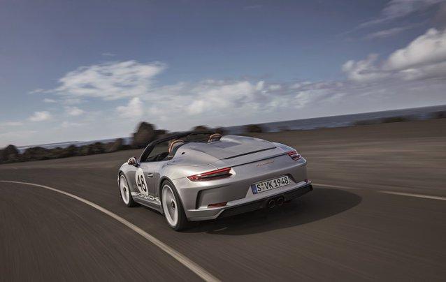 GALERIE FOTO: Maşina ca obiect de colecţie: 1.948 de unităţi de Porsche 911 Speedster vor fi fabricate începând cu jumătatea anului 2019 cu ocazia aniversării a 70 de ani de Porsche Sports Car