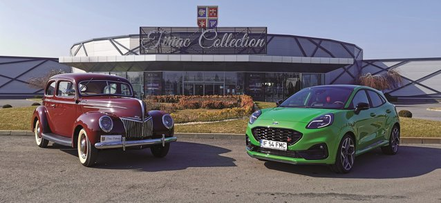 Faţă în faţă, un Ford V8, care în perioada interbelică era una dintre cele mai eficiente maşini pe care un român le putea achiziţiona, şi un Ford Puma produs acum în Craiova. Cum arată şi cum se simt cei doi bolizi?