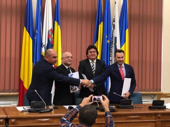 Imaginea articolului Alianţă a provinciei faţă de Bucureşti. Patru primari din România au lansat Alianţa Vestului. Emil Boc: Nu e un proiect de separatism teritorial