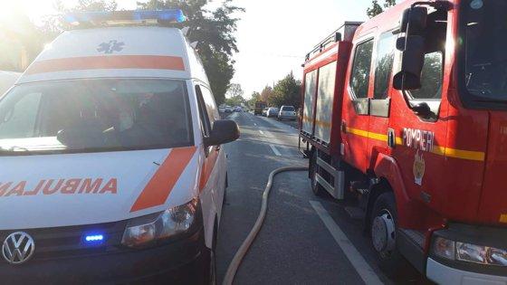 Imaginea articolului Accident între două TIR-uri pe DN7, Arad. Traficul este îngreunat