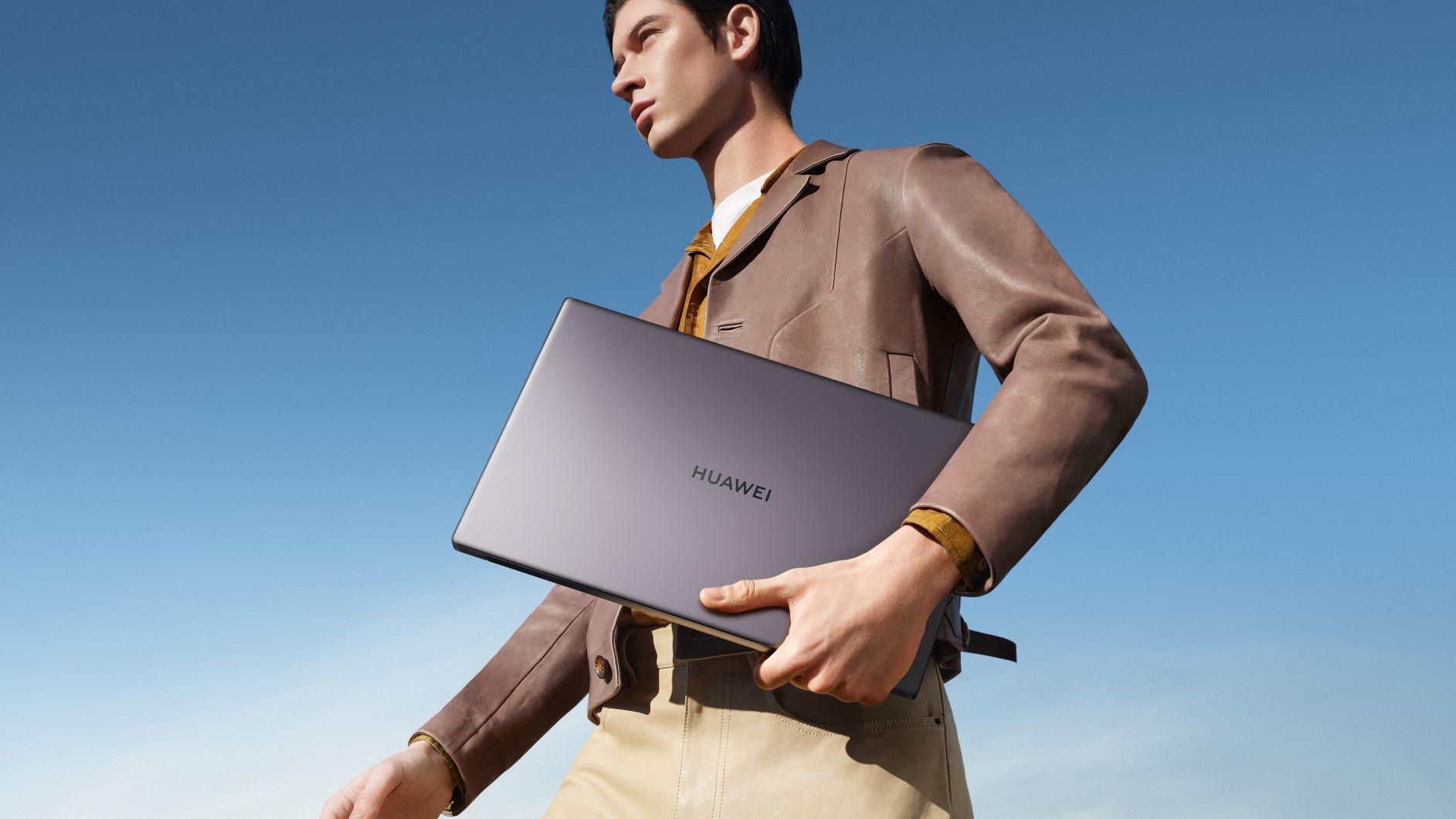 Fii productiv de oriunde alături de HUAWEI MateBook D15