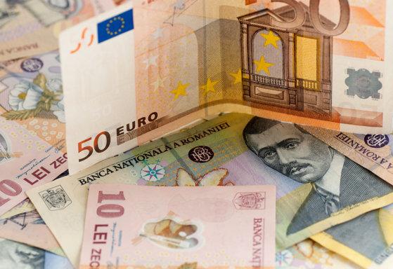 Imaginea articolului Un nou maxim istoric: Cursul de schimb leu/euro, la un pas de pragul de 4,7