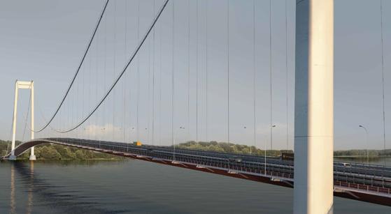 Imaginea articolului Comisia Europeană a aprobat finanţarea podului suspendat peste Dunăre dintre Brăila şi Tulcea/Anunţul făcut de ministrul de Finanţe