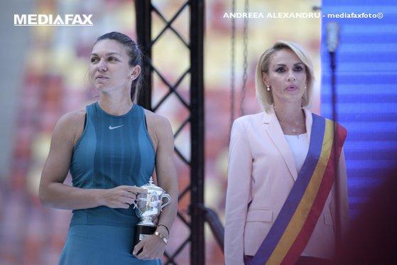 Imaginea articolului Firea, despre huiduielile de pe Arena Naţională atribuite Simonei Halep: Colajul de a doua zi a fost făcut cu acordul lui Dragnea