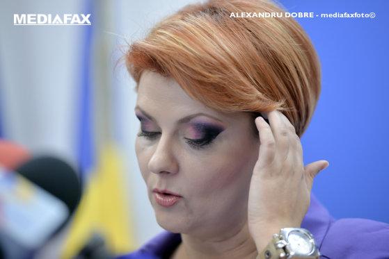 Imaginea articolului Ministrul Muncii, Lia Olguţa Vasilescu, anunţă că va fi audiată la DNA într-un nou dosar