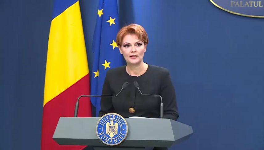 Legea Pensiilor, adoptată de Guvern | Olguţa Vasilescu: Nicio pensie nu va scădea. Punctul de pensie, 45% din salariul mediul brut/ Care sunt principalele reglementări | VIDEO
