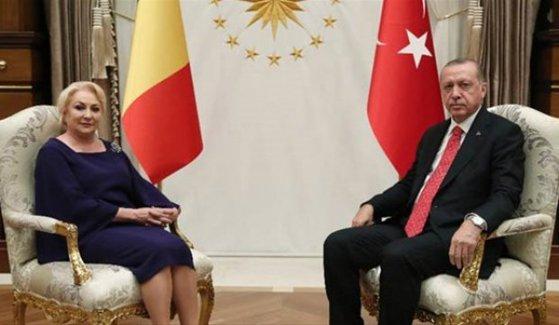 Imaginea articolului Premierul Viorica Dăncilă a avut o întrevedere cu preşedintele Turciei, Recep Erdoğan | VIDEO