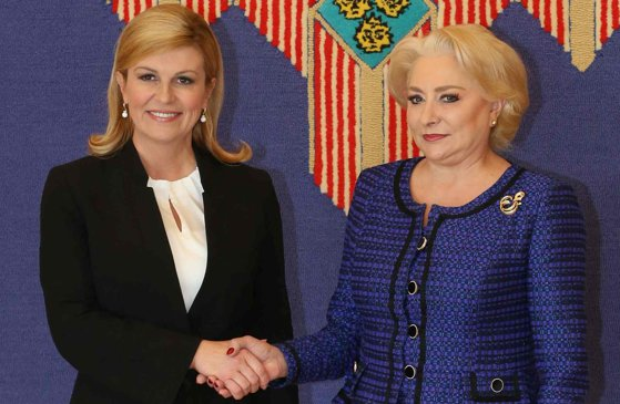 Imaginea articolului Dăncilă a discutat, luni, cu preşedintele Croaţiei despre Preşedinţia Consiliului UE
