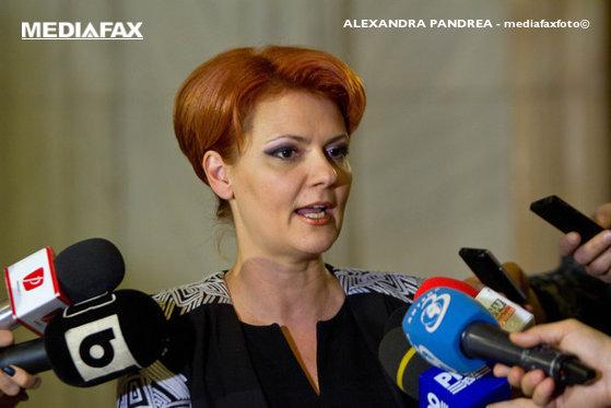 Imaginea articolului Olguţa Vasilescu, despre legea pensiilor: Opoziţia nu doreşte aplicarea legii din cauza impactului mare pe care îl are