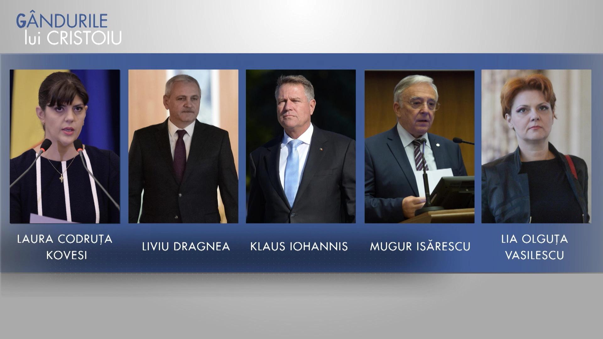 """Ion Cristoiu: Ura, motorul campaniei. Olguţa Vasilescu, singura care poate să spună  """"Şo, pe Iohannis!"""""""