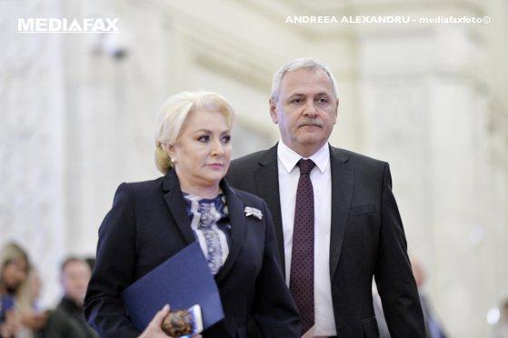 Imaginea articolului Viorica Dăncilă, întâlnire neprogramată cu Liviu Dragnea la Parlament/ Posibilă discuţie despre remaniere