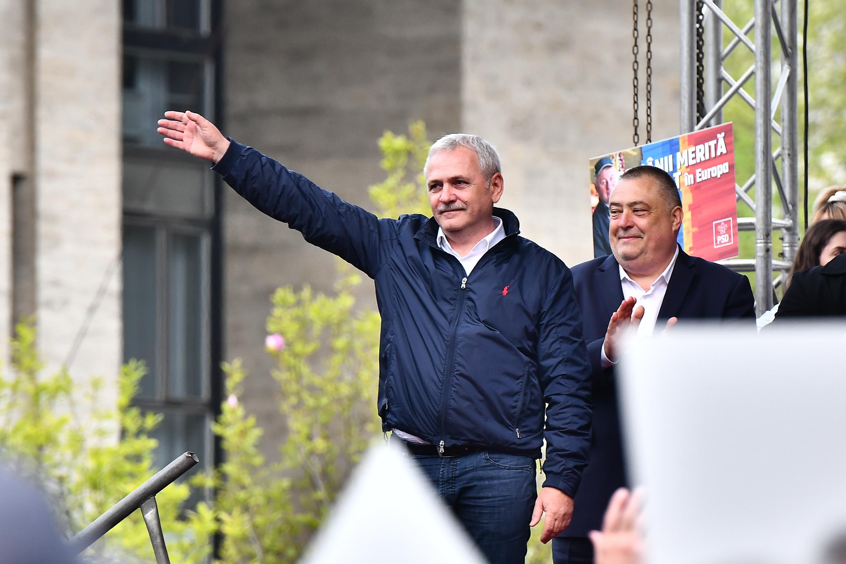 PSD a anulat cel mai mare miting de campanie. Codrin Ştefănescu explică motivele pentru care partidul lui Dragnea ocoleşte Capitala