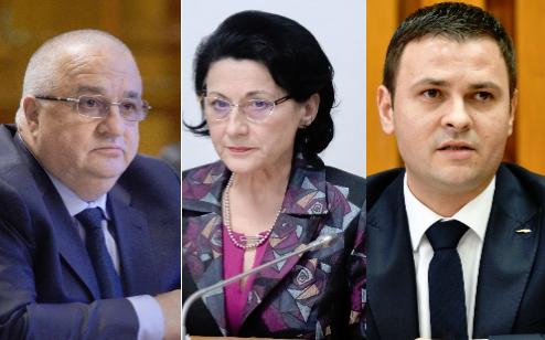 Imaginea articolului Suciu, Stroe şi Andronescu vor să candideze pentru funcţiile de conducere la Congresul PSD