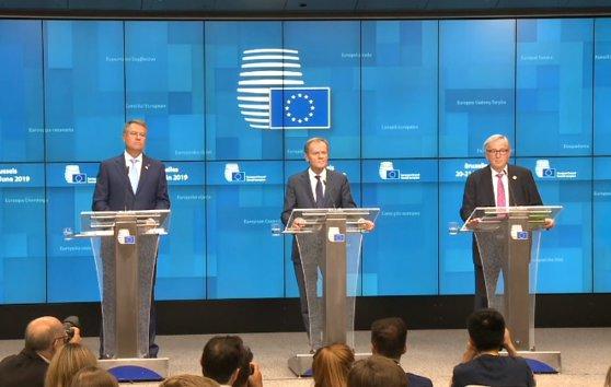 Imaginea articolului Summit-ul Consiliului European de la Bruxelles | Iohannis: Agenda Strategică a UE reflectă pe deplin cele 10 angajamente de la Sibiu/ Tusk şi Juncker, mulţumiri la adresa României