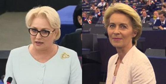 Imaginea articolului Dăncilă, discuţii cu Ursula von der Leyen despre reprezentantul României în Comisia Europeană