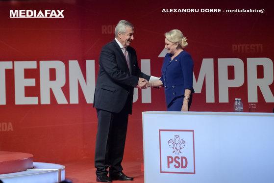 Imaginea articolului Ultima întâlnire? Viorica Dăncilă va avea o întrevedere cu liderul ALDE Călin Popescu Tăriceanu - surse