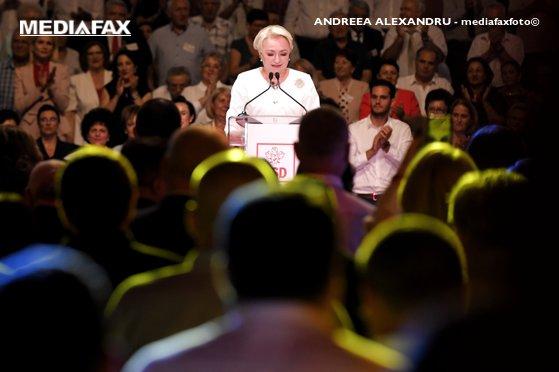 Imaginea articolului Viorica Dăncilă, după Congresul PSD: Am arătat tuturor cât suntem de uniţi şi pregătiţi să câştigăm alegerile