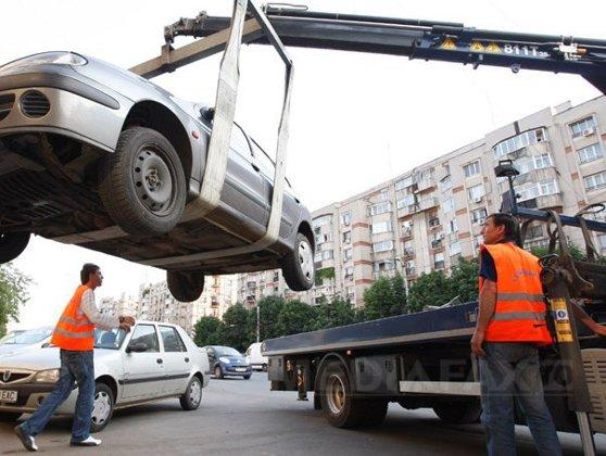 Imaginea articolului Un partid a atacat în justiţie decizia Primăriei de ridicare a maşinilor parcate neregulamentar