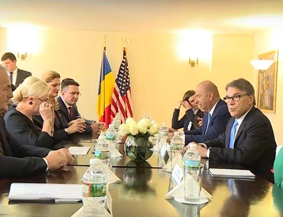 Imaginea articolului Viorica Dăncilă şi secretarul american al Energiei au semnat un Memorandum în domeniul nuclear civil