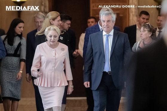 Imaginea articolului Dăncilă, despre protejarea lui Tăriceanu în Parlament: Cred că a fost o greşeală