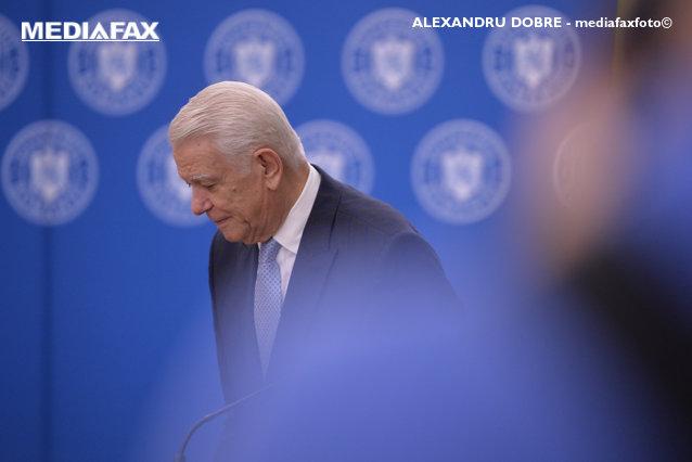 Teodor Meleşcanu a anunţat pe cine susţine în turul doi al alegerilor prezidenţiale