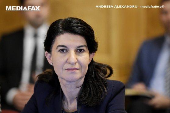 Imaginea articolului Ministrul Muncii Violeta Alexandru spune că PNL va avea candidat propriu pentru Primăria Capitalei