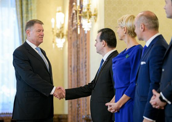 Imaginea articolului Klaus Iohannis: Cred că Ludovic Orban e cea mai bună soluţie de premier, fie plin, fie interimar
