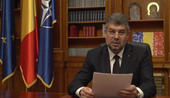Marcel Ciolacu anunţă o posibilă moţiune de cenzură pentru demiterea Guvernului Orban
