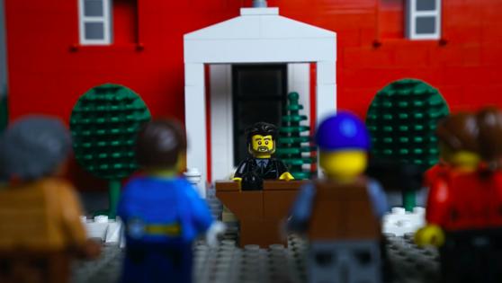 Canadienii au reprodus din Lego discursul premierului Trudeau pentru a fi mai uşor de înţeles pentru cei mici