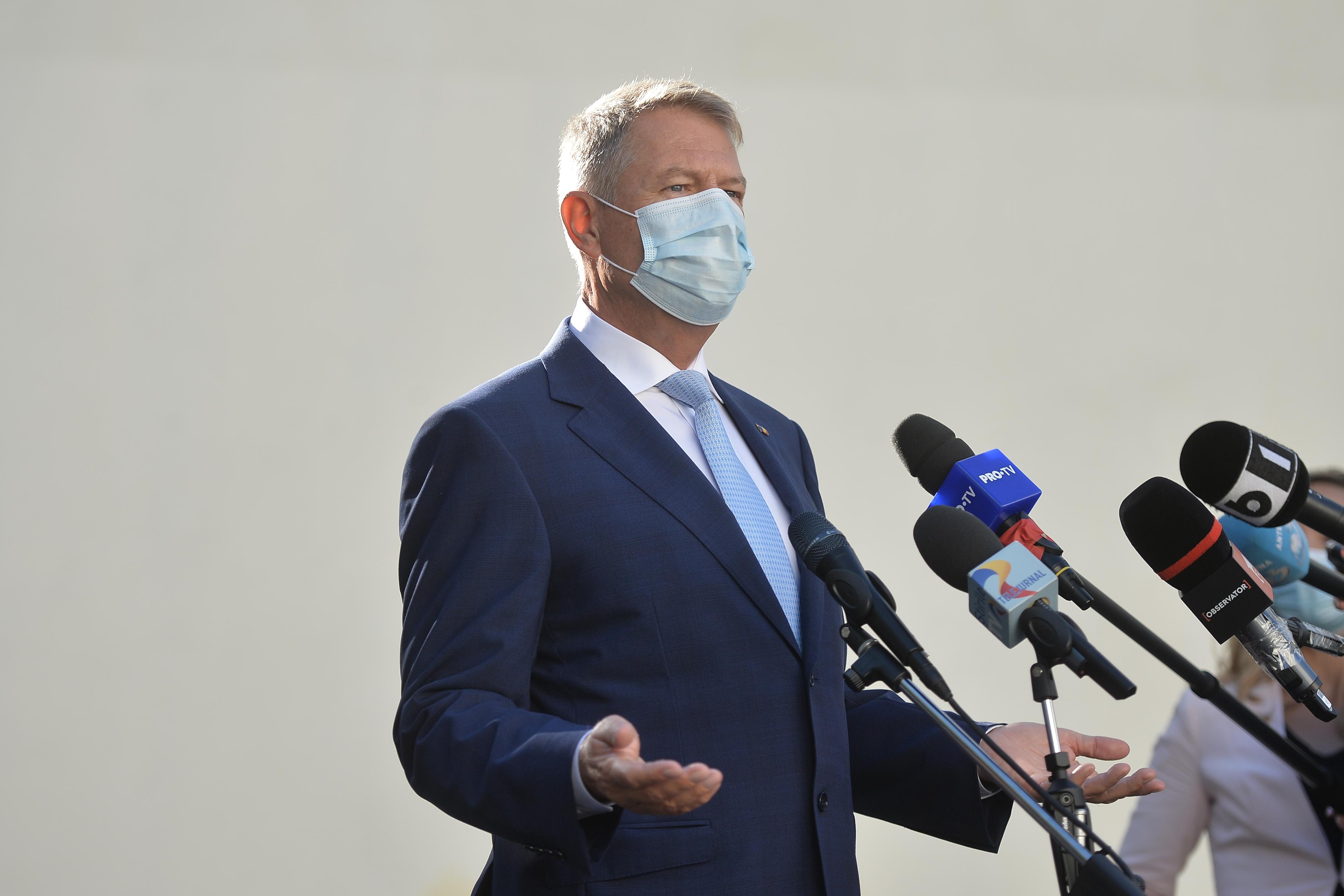 Preşedintele Klaus Iohannis vrea organizarea alegerilor parlamentare. Gestionarea pandemiei depinde de reconstrucţia Parlamentului