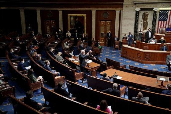 Imaginea articolului Senatul SUA nu poate finaliza procedura demiterii înainte de încheierea mandatului lui Donald Trump