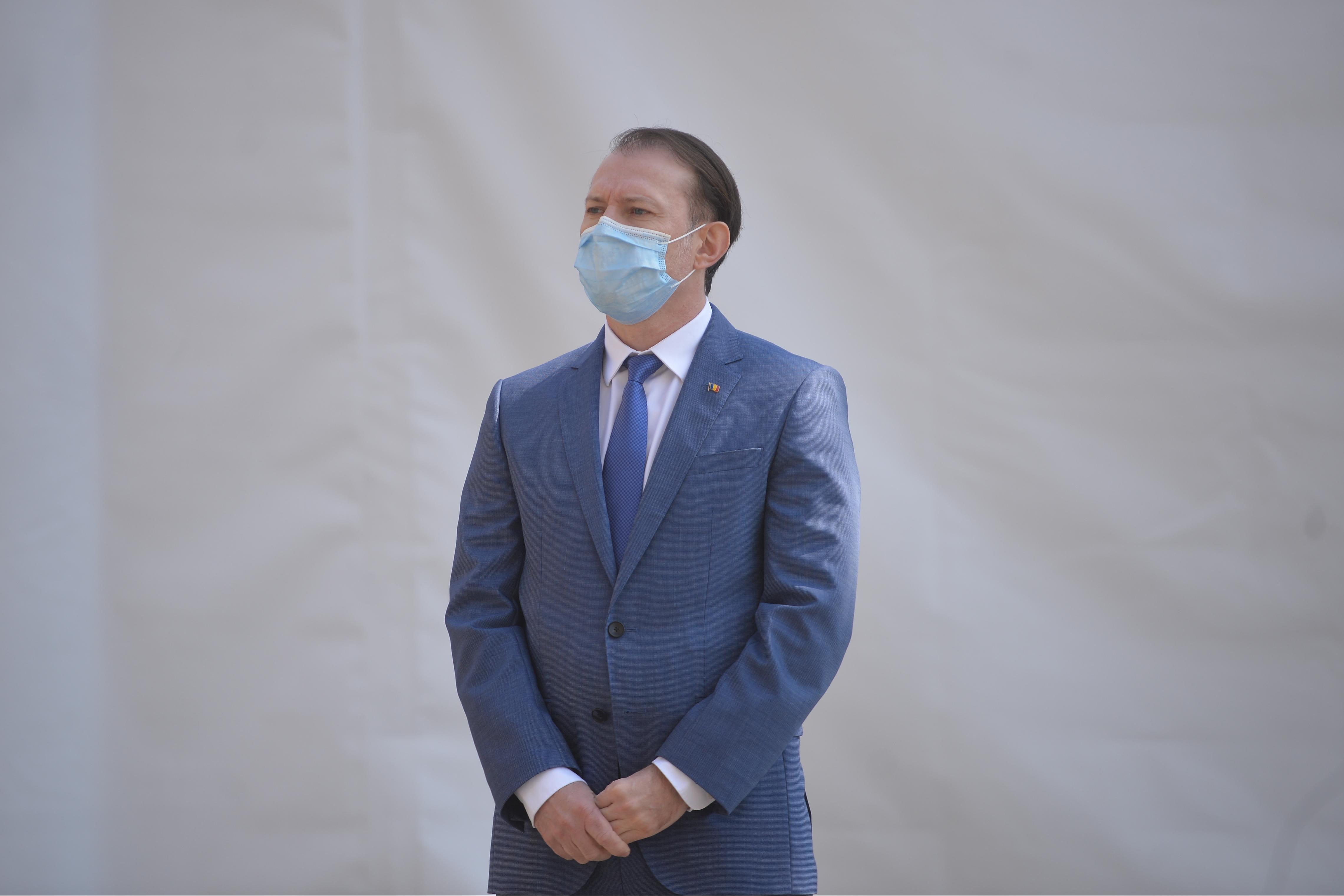 USR-PLUS îl cer lui Cîţu desecretizarea minutei şedinţei de guvern cu centrele speciale de vaccinare